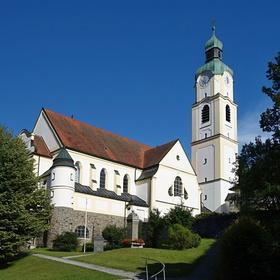 Katolický kostel Sankt Nepomuk