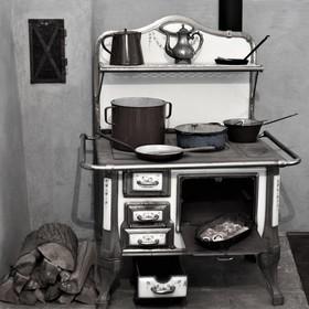 V hradní kuchyni