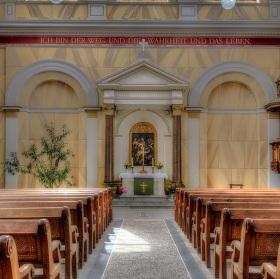 Zámecký kostel Putbus
