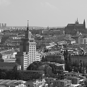 Praha od Baby