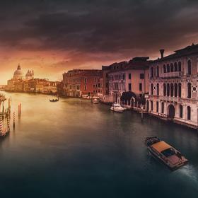 Chvilka v Benátkách