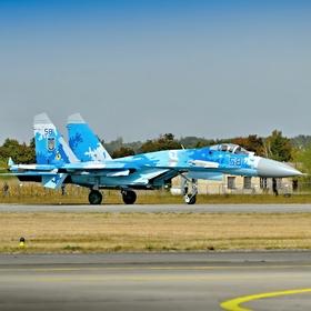 Ukrajinský Suchoj SU-27