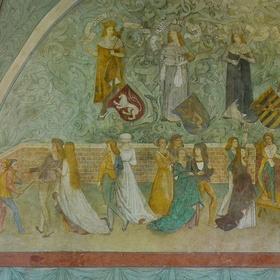 Hradní nástěnná malba
