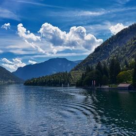 Jezero Achensee, Tyroly, Rakousko