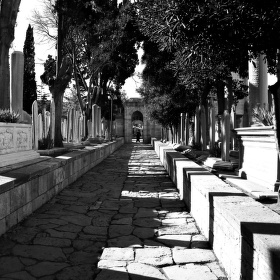 Arabský hřbitov