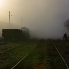 vlakové nádraží...