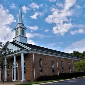 Adventistický kostel.