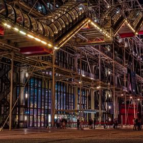 Centre Georges Pompidou, Paříž