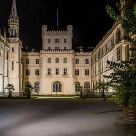 Státní zámek Lednice - večerní...
