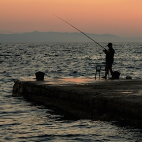 ...rybář...