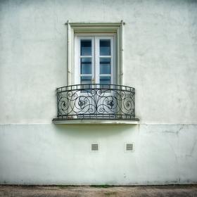 detail - balkónek