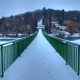 Sázavský sníh