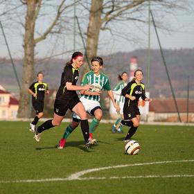 TJ Hradiště - Bohemians Praha 2-0 2. kolo pohárové soutěže žen