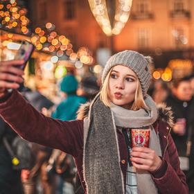 Vánoční Selfie