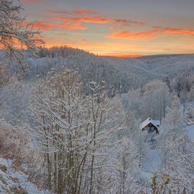 Šumava - v údolí Vydry