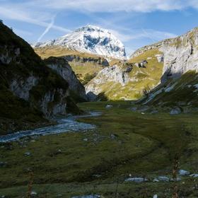 Zapomenuté alpské údolí