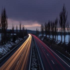 Večerní cesta