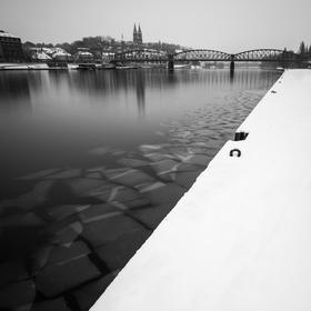 Zima na nábřeží