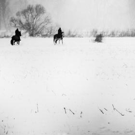 Dva na koni