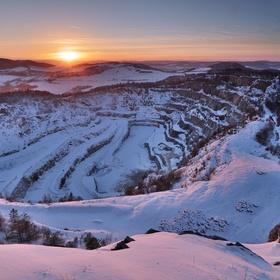 Zima v Českém Krasu