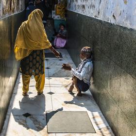Mausoleum Hazrat Nizamuddin, Dillí, Indie