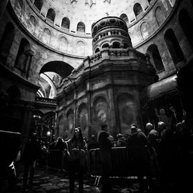 Chrám Božího hrobu-Jeruzalém