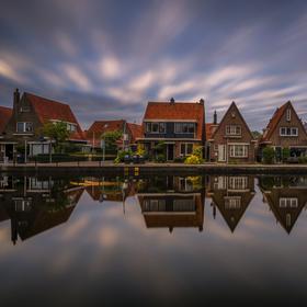 Holandský Meppel, bydlení v nulové nadmořské výšce :-)