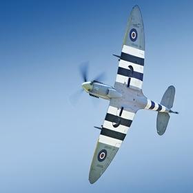 Spitfire Mk.XVIE  TE184 na Aviatické pouti