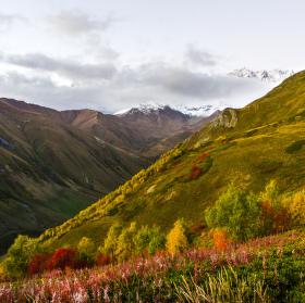 Podzim ve Svanetii