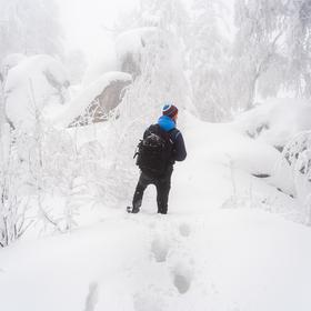 Pojedeme na Karłow, tam už sníh přeci není