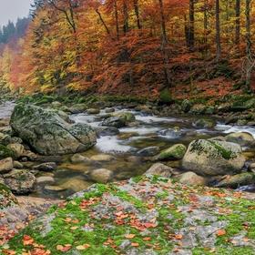 podzimní Jizera
