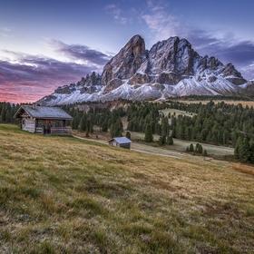Svítání Passo delle erbe