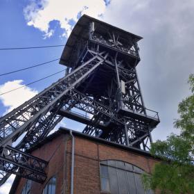 Důlní věž dolu Michal