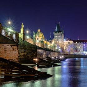 Klasický pohled na Karlův Most