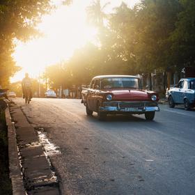 Západ slunce ve Viñales