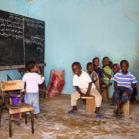 V senegalské škole