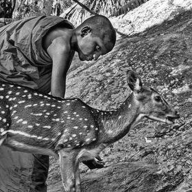 Společné soužití /Černobílá Srí Lanka/
