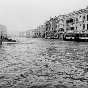 Černobílé Benátky