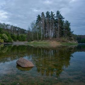 Dalešická přehrana v Lavičkách