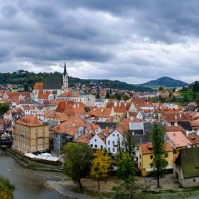 Českokrumlovské panorama ...