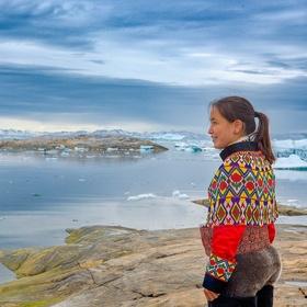 Inuitská dívka