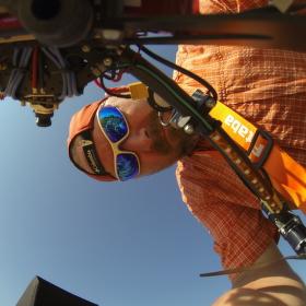 GoPro autoportrét