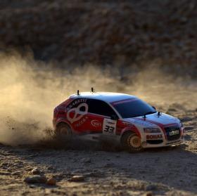 Audi S3 v prachu