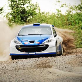 Velké nasazení v přírodním retardéru - rally sprint Kopná