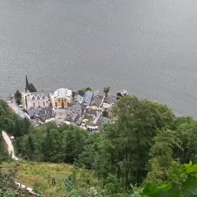 město Hallstatt Rakousko
