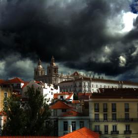 Lisabon před bouří