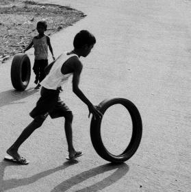 děti v Goa
