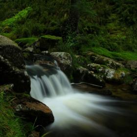 Krkonošský malý vodopád