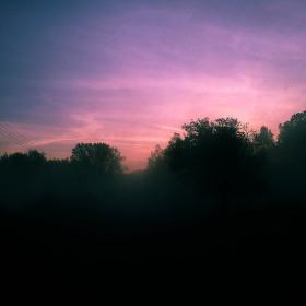 Chladná ranní mlha