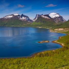 Bergsfjord, Senja, Norsko